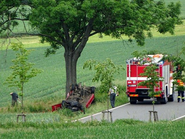 Dopravní nehoda na silnici 337mezi Ronovem a Žleby