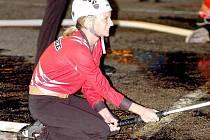 Noční soutěž v požárním útoku hostila i letos Seč.