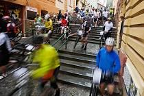 V Chrudimi v sobotu odstartuje cyklozávod Manitou Železné hory České spořitelny