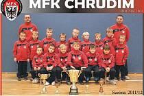 Mladí fotbalisté MFK Chrudim roč. 2004.