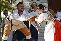 Na Admákových folklorních slavnostech v Hlinsku vystoupil i zdejší soubor Vysočan