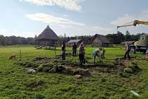 Od pátku do neděle se konala další z brigád dobrovolníků v Zemi Keltů..