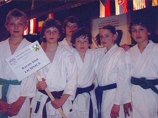 Karate klub Lichnice.