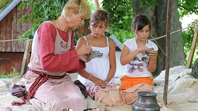 Nasavrky se proměnily během oslav svátku Lughnasad na mekku keltské kultury.