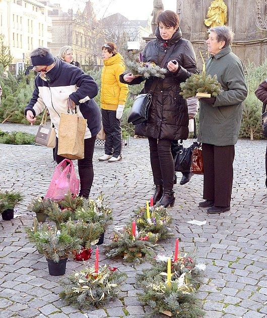 Prodej vánočních dekorací