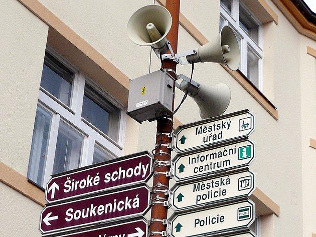 Městský rozhlas.