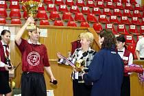 Mistrovství republiky soukromých středních škol v sálové kopané.