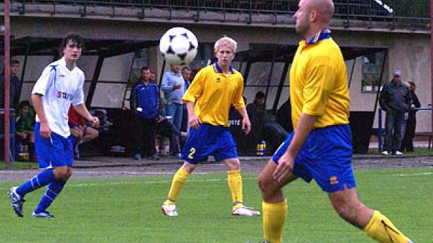 Z utkání Třemošnice - AFK Chrudim B.