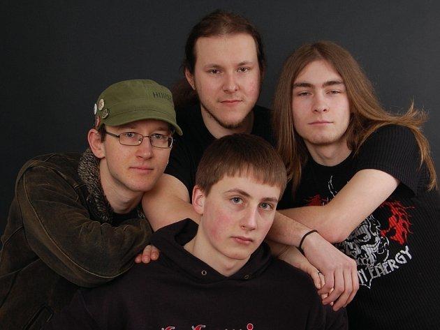 Hlinecká hudební formace Blue Fire.