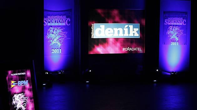 """Slavnostní vyhlášení """"Nejúspěšnějších sportovců"""" kraje za loňský rok se konalo v Hlinsku."""