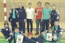 Mladší žáci Sokola Chrudim přivezli z turnaje ve Zruči nad Sázavou stříbro