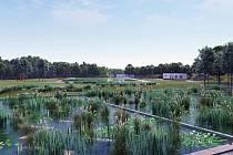 """Biotopová koupaliště jsou nyní """"in"""". Mají relativně nízké pořizovací náklady, levný provoz a ještě jsou šetrná jak k přírodě, tak i ke zdraví citlivějších rekreantů. Hlinecký biotop vzniká na místě bývalé plovárny, před letní sezonou bude hotový."""