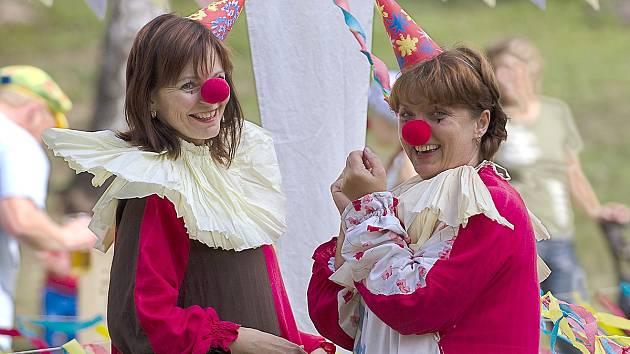 Z dětského cirkusového odpoledne v Libkově