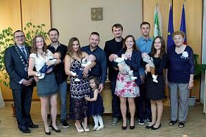 O osm dětí je bohatší obec Zaječice, o uplynulém víkendu se uskutečnilo jejich slavnostní přivítání.