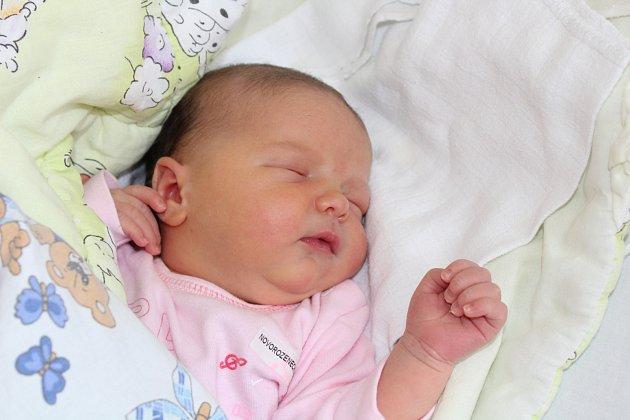LINDA DVOŘÁKOVÁ (4,08 kg a 53 cm) udělala radost 27.6. v 8:44 nejen rodičům Tomáši a Romaně Dvořákovým ze Sobětuch, ale také 7leté sestřičce Diance.