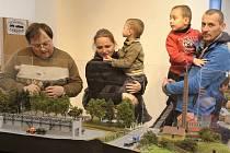 Výstava železničních modelů v Chrudimi.