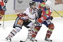 Chrudimští hokejisté prohráli v dalším kole I. hokejové ligy s Třebíčí.