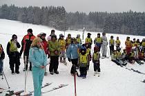 Přebor škol mikroregionu Hlinecko v lyžování v Trhové Kamenici.