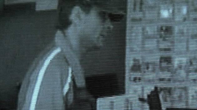 Snímky lupiče, které pořídila bezpečnostní kamera v přepadené pobočce.