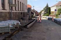 Podměstská ulice v Proseči.