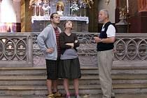 CELODENNĚ ZPŘÍSTUPNĚNÝ KOSTEL Nanebevzetí Panny Marie se stal vyhledávanou turistickou atrakcí, a to zejména o svátcích a víkendech.