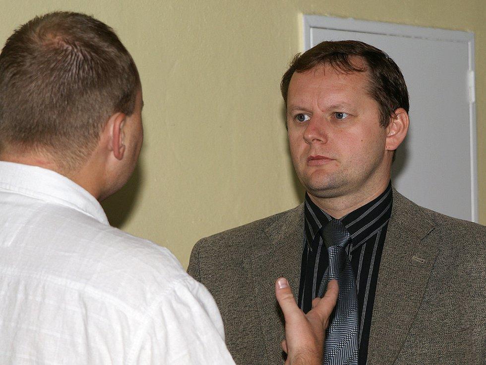 Ze soudního procesu s Lubošem Sahulou.