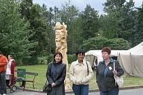 Cipryánova socha se stala dominantou místní mladoňovické části Pohled.