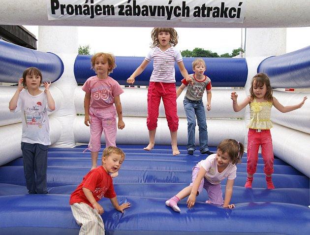Dětský den se slavil i na cestmistrovství Správy silnic Pardubického kraje v Chrudimi.