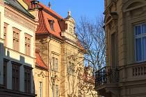 Opravená budova chrudimského Muzea.