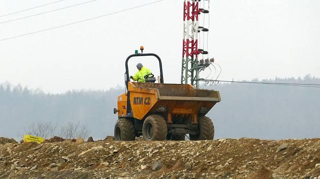 Aktuální stav výstavby druhé etapy chrudimského obchvatu.