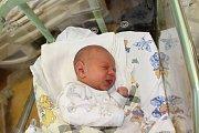 JAKUB NEUMAN (3,6 kg a 50 cm) se narodil 11.1. ve 13:34. Se svou maminkou Eliškou pojede do Chrudimi