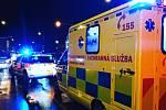 Záchranáři pacienta na místě ošetřili a převezli do nemocnice