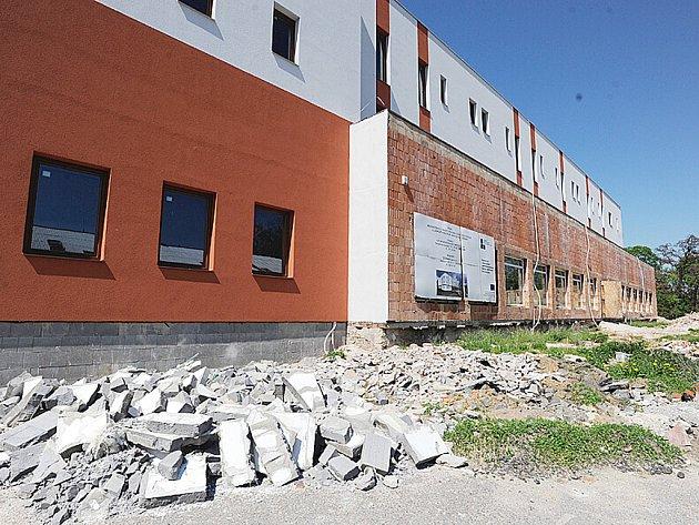 Budova Lůžkového a sociálního centra v areálu bývalého chrudimského pivovaru.