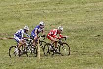 V hlineckých Olšinkách se jel 5. závod českého cyklokrosového poháru TOI TOI Cup 2009.