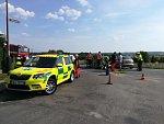 Nehoda v Markovicích. 44letý motorkář střet s autem nepřežil.