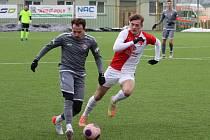 Zimní fotbalová Tipsport liga: MFK Chrudim - SK Slavia Praha B.