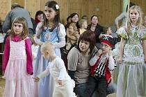 Radovánky při dětském karnevalu v Bojanově.