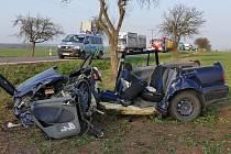 Těžká nehoda u Kočí