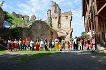 Ekologický den na hradě