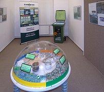 Snímek ze skutečské expozice o recyklaci