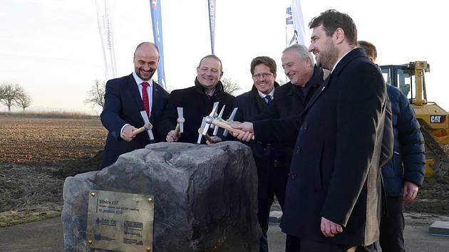 Slavnostní zahájení stavby obchvatu Chrudimi