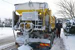 Nedělní sněhová kalamita na Chrudimsku.