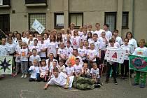 Celkem 40 dětí z Přelouče a 10 dětí z Ukrajiny prožilo týden ve Zderazi u Skutče.
