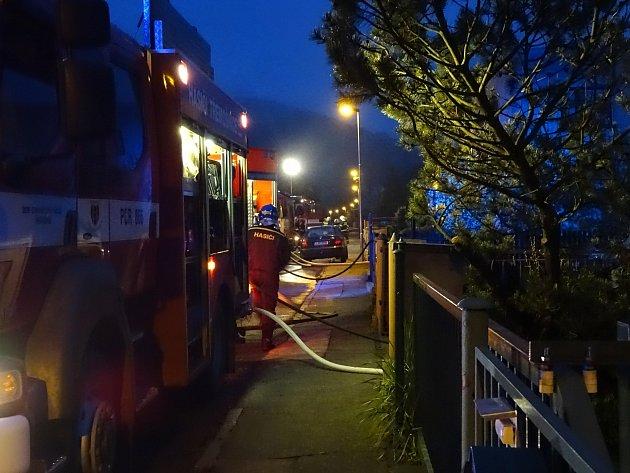 Požár dílny vTřemošnici
