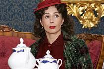 Nela Boudová v dobovém kostýmu.