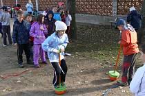 Klášterní zahrady v Chrudimi hostily Den zdraví.