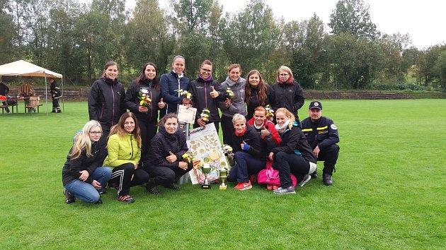 V ženské kategorii vybojovaly zlato ženy z ČHJ Hlinsko.