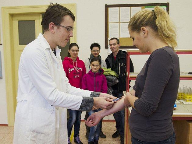 Dny otevřených dveří na chrudimském Gymnáziu Josefa Ressela.