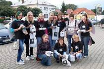 Žáci SOŠ A SOU  technického v Třemošnici tradičně pomáhají nadaci Světluška.