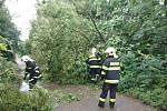 Následky bouře očima hasičů